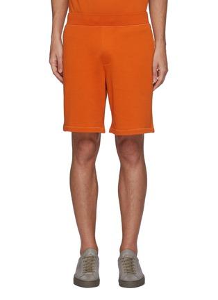 Main View - Click To Enlarge - RAG & BONE - 'Driscoll' Elastic Waist Cotton Shorts