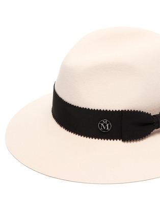 Detail View - Click To Enlarge - MAISON MICHEL - Henrietta' Rabbit Felt Fedora Hat