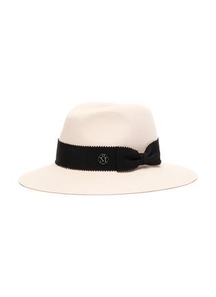 Main View - Click To Enlarge - MAISON MICHEL - Henrietta' Rabbit Felt Fedora Hat