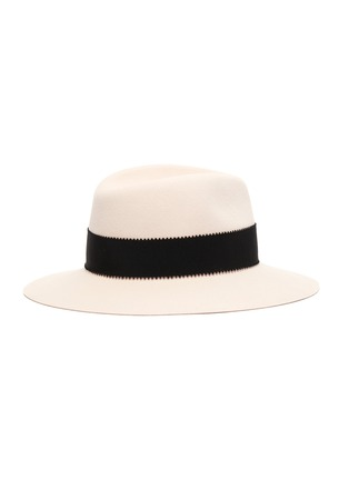 Figure View - Click To Enlarge - MAISON MICHEL - Henrietta' Rabbit Felt Fedora Hat