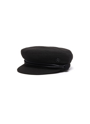 Main View - Click To Enlarge - MAISON MICHEL - Removable Wool Cotton Braid Timeless New Abbey Sailor Cap