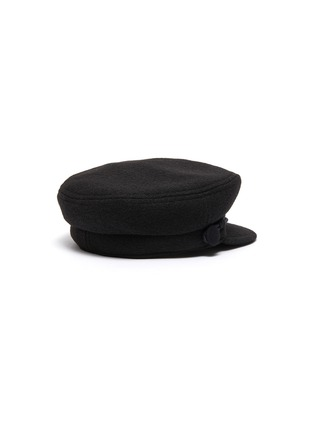 Figure View - Click To Enlarge - MAISON MICHEL - Removable Wool Cotton Braid Timeless New Abbey Sailor Cap