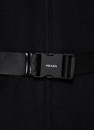 - PRADA - Re-Nylon Reversible Belted Hooded Coat