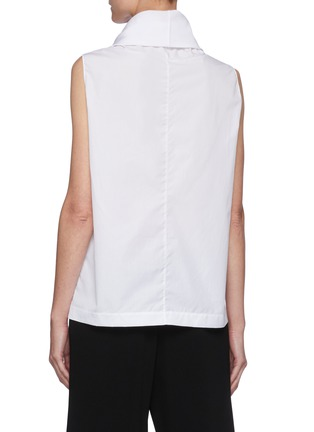 Back View - Click To Enlarge - THE ROW - Mock neck sleeveless top