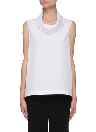 Main View - Click To Enlarge - THE ROW - Mock neck sleeveless top