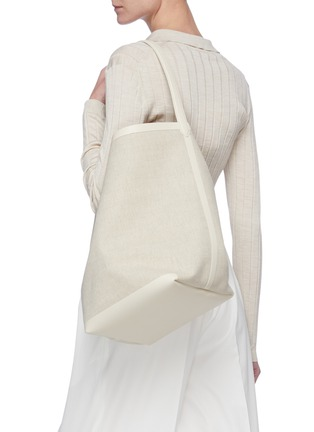 Figure View - Click To Enlarge - THE ROW - 'Park' canvas tote