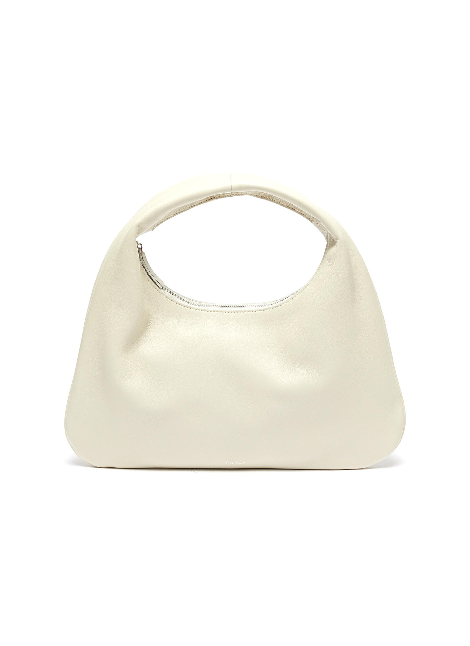 The Row 'EVERYDAY' SMALL LEATHER SHOULDER BAG