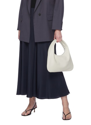 Figure View - Click To Enlarge - THE ROW - 'Everyday' small leather shoulder bag