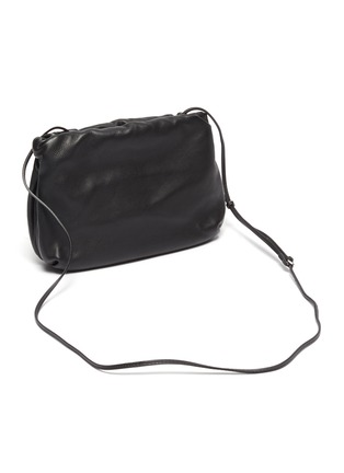 Detail View - Click To Enlarge - THE ROW - 'Bourse' Crossbody Leather Bag