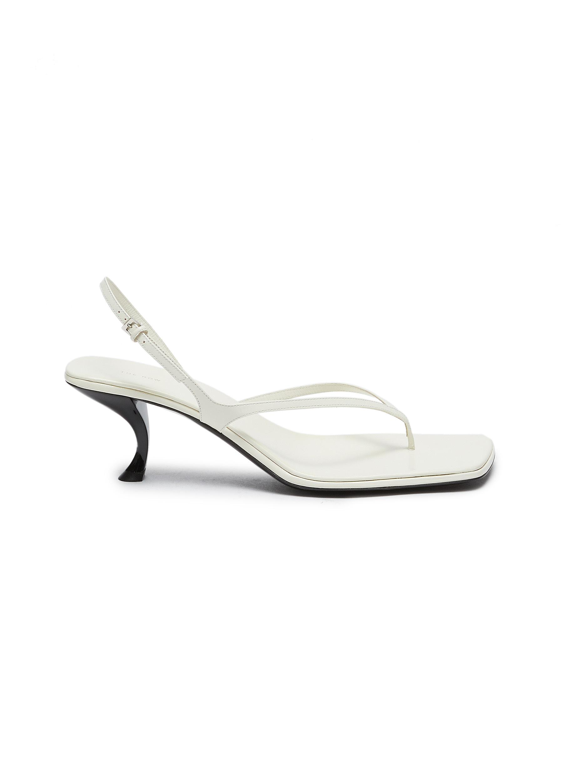 The Row 'CONSTANCE' THONG LEATHER SANDALS