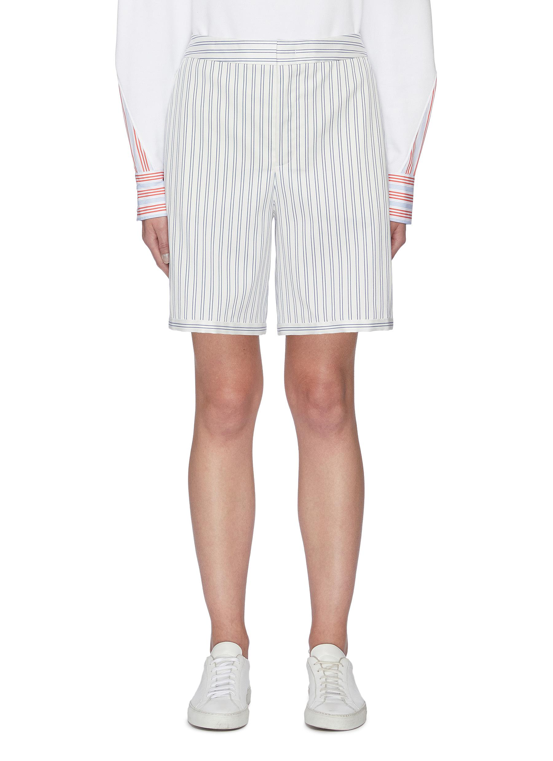 Portspure Shorts STRIPED TAILORED SHORTS