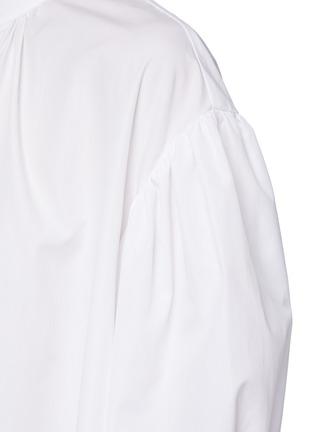 - ALEXANDER MCQUEEN - Cotton poplin shirt dress