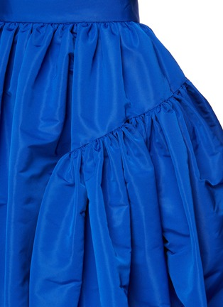 - ALEXANDER MCQUEEN - Gathered puff maxi skirt