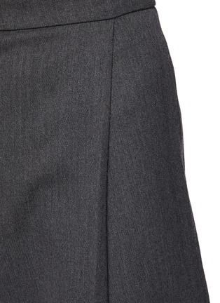 - ALEXANDER MCQUEEN - Wool Twill Suiting Pants