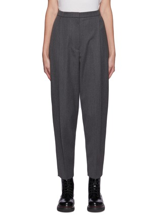 Main View - Click To Enlarge - ALEXANDER MCQUEEN - Wool Twill Suiting Pants