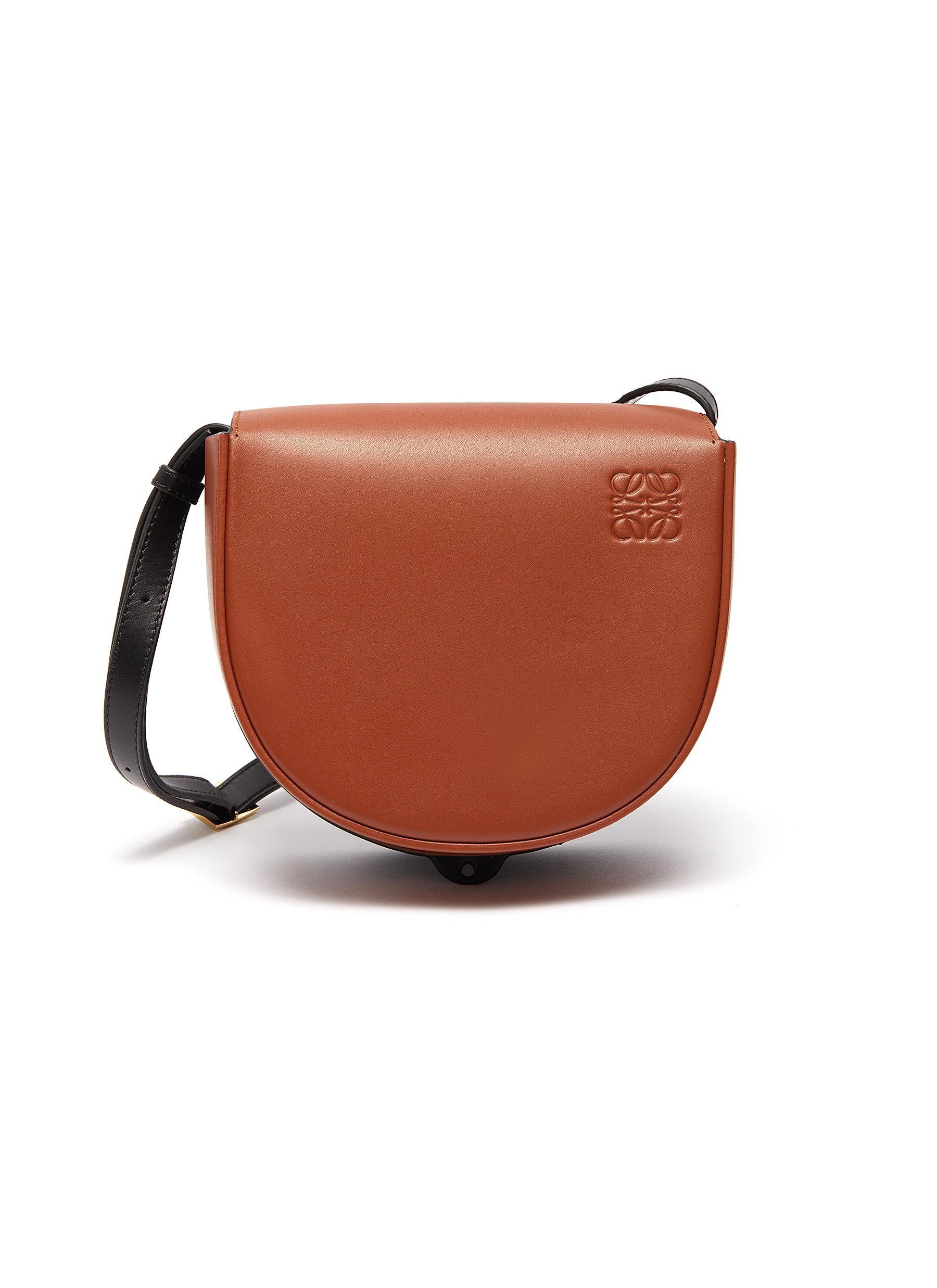 'Heel' leather bag