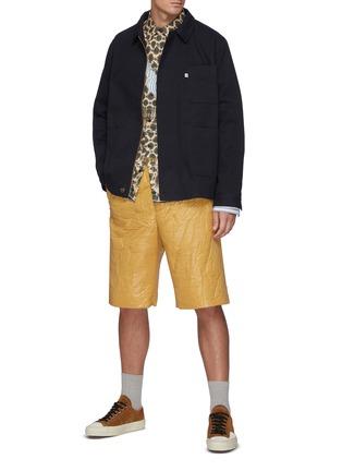 Figure View - Click To Enlarge - NANUSHKA - Cruz Collar Shirt Jacket