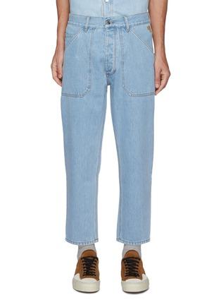 Main View - Click To Enlarge - NANUSHKA - Jasper' Denim Workwear Jeans