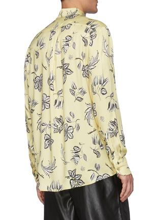 Back View - Click To Enlarge - NANUSHKA - Kaler' All-over Floral Print Oxford Shirt