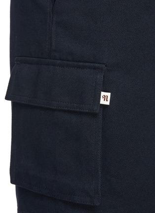 - NANUSHKA - Noam' Mid Rise Cargo Shorts