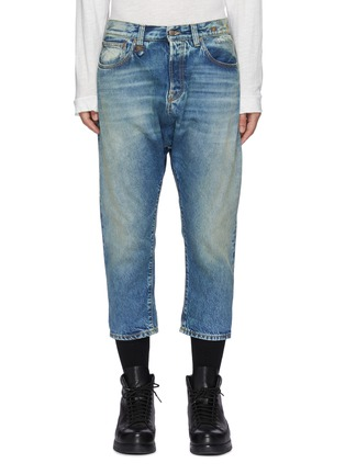 Main View - Click To Enlarge - R13 - Light wash cropped jeans