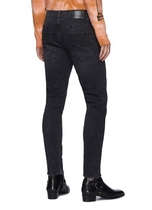 Back View - Click To Enlarge - R13 - Dark wash skinny jeans