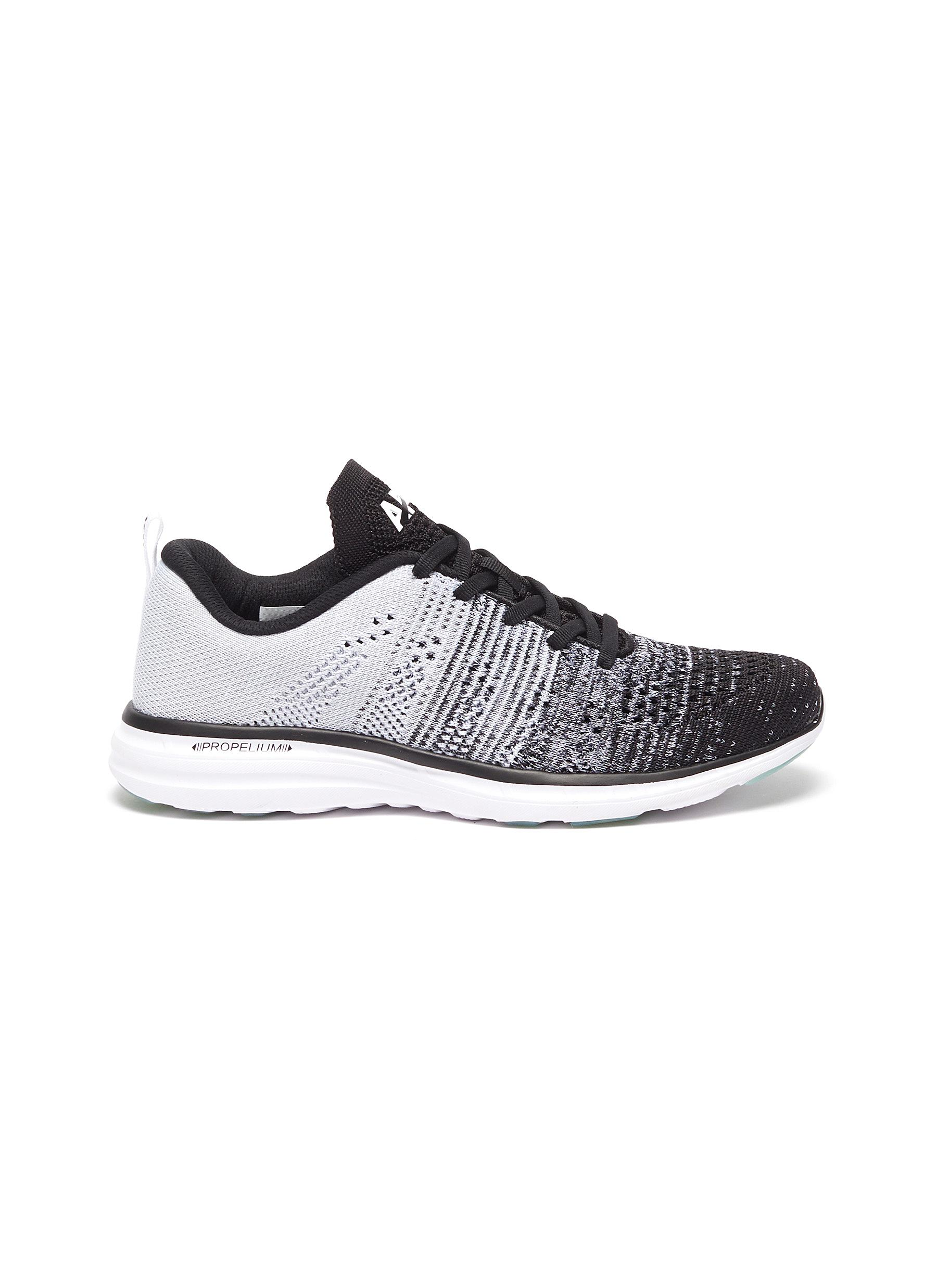 'Techloom Pro' Gradient Knit Upper Lace Up Sneakers