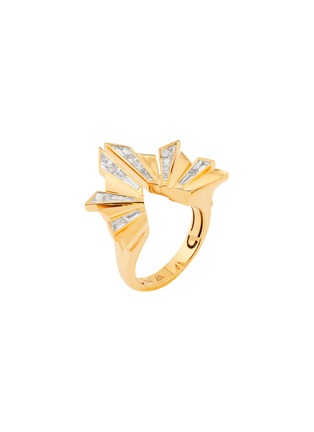 Main View - Click To Enlarge - STEPHEN WEBSTER - Dynamite' diamond 18k gold cocktail ring