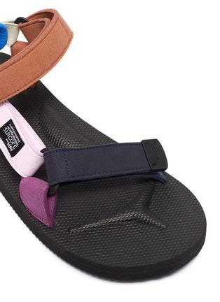 Detail View - Click To Enlarge - SUICOKE - x HAY 'Depa' Colourblock Strap Platform Sandals