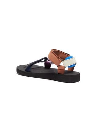 - SUICOKE - x HAY 'Depa' Colourblock Strap Platform Sandals