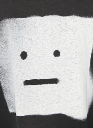 - ACNE STUDIOS - EYCK Spray Face Oversized T-Shirt