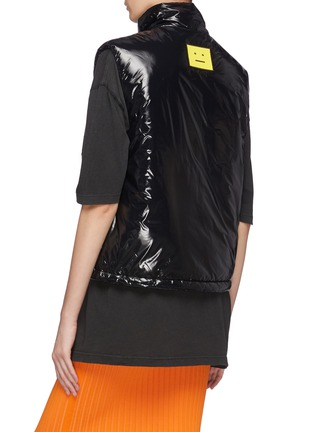Back View - Click To Enlarge - ACNE STUDIOS - Odango Gloss NY Face Padded Vest
