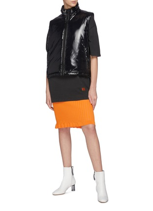 Figure View - Click To Enlarge - ACNE STUDIOS - Odango Gloss NY Face Padded Vest