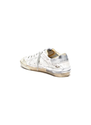 - GOLDEN GOOSE - Superstar' deconstructed lace-up sneakers