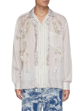 Main View - Click To Enlarge - TOGA VIRILIS - Cupra Stripe Shirt