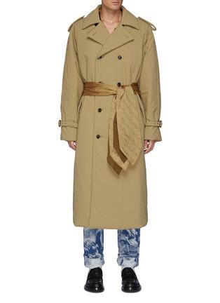 Main View - Click To Enlarge - TOGA VIRILIS - Nylon Padding Long Coat