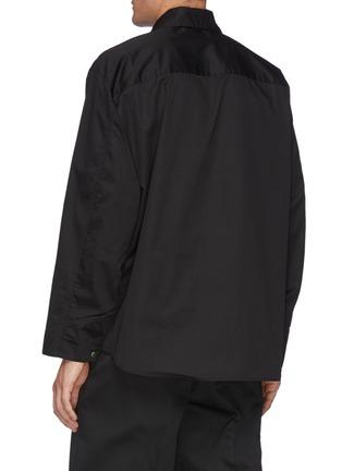 Back View - Click To Enlarge - TOGA VIRILIS - Zip-up Shirt