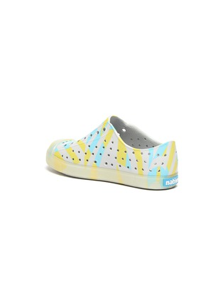 Detail View - Click To Enlarge - NATIVE - Jefferson' Geometric Print Kids Slip-on Sandals