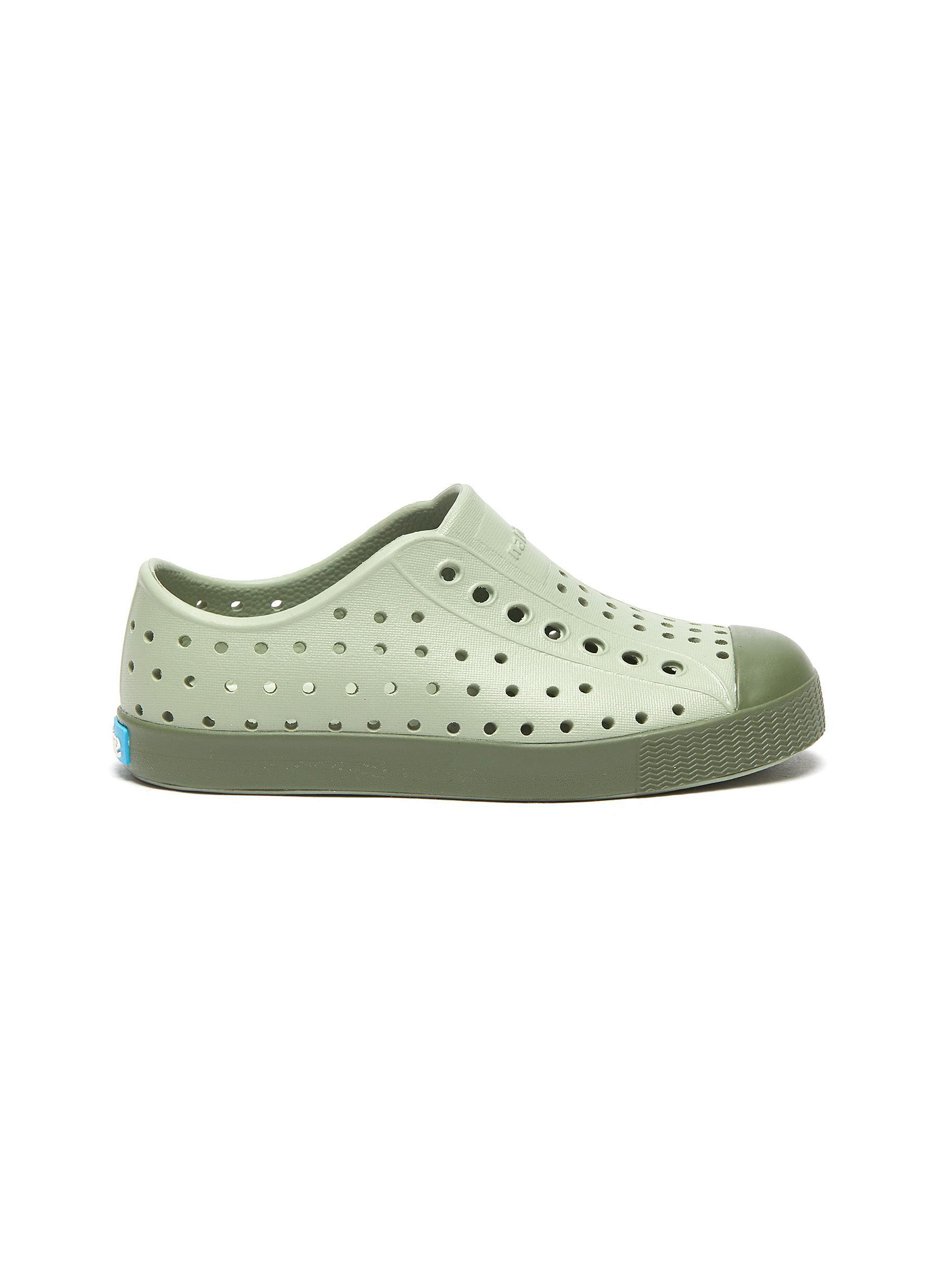 Jefferson' perforated toddler slip-on sneakers - NATIVE - Modalova