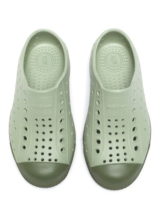 Figure View - Click To Enlarge - NATIVE - 'Jefferson' perforated toddler slip-on sneakers