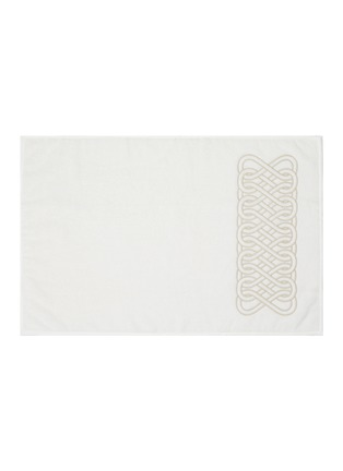 Main View - Click To Enlarge - FRETTE - Auspicious Embroidery Guest Towel — Milk & Savage
