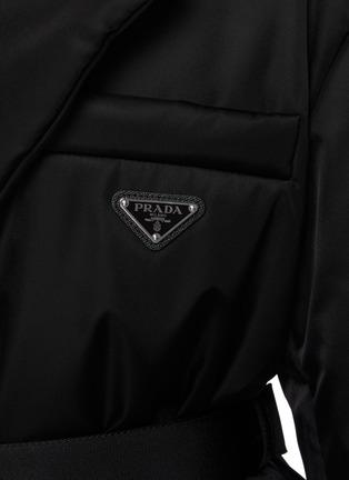 - PRADA - Re-Nylon Belted Down Coat