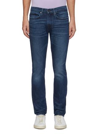 Main View - Click To Enlarge - FRAME DENIM - 'L'Homme' Slim Fit Whiskered Denim Jeans