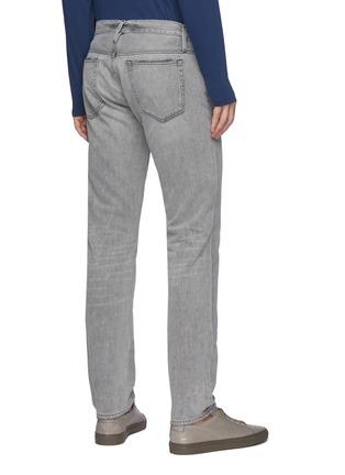 Back View - Click To Enlarge - FRAME DENIM - 'L'Homme' slim whiskered denim jeans