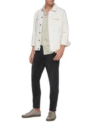 Figure View - Click To Enlarge - FRAME DENIM - 'L'Homme' Flap Pocket Denim Jacket