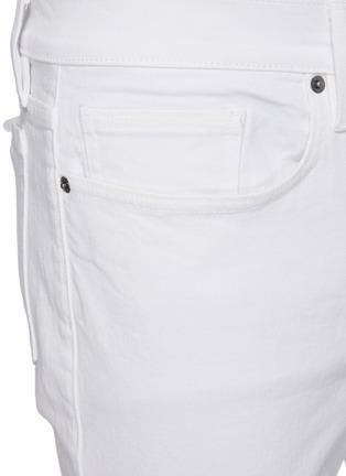 - FRAME DENIM - 'L'Homme' Distress Detail Unwash Skinny Jeans