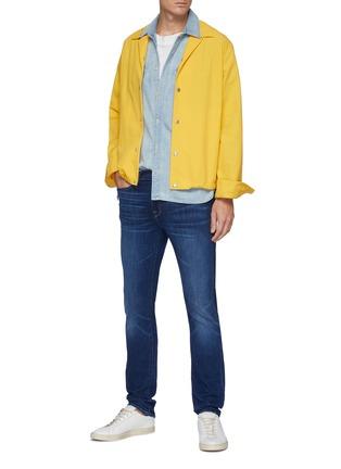 Figure View - Click To Enlarge - FRAME DENIM - 'L'Homme' skinny whiskered denim jeans