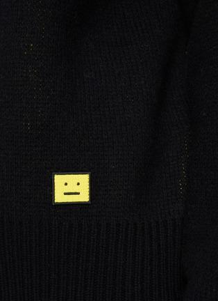 - ACNE STUDIOS - Face Intarsia Sweater