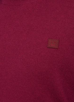 - ACNE STUDIOS - Kalon' New Small Face Sweater