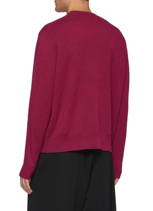 Back View - Click To Enlarge - ACNE STUDIOS - Kalon' New Small Face Sweater
